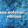 Airs on April 20, 2020 at 01:00PM Stefano Noferini Presents Club Edition