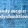 andy mcgirr – dysfunktion