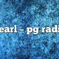 pearl – PG Radio