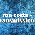 Airs on June 06, 2017 at 02:00PM In the Transmissions radio show you can enjoy Boris' sets along with other incredible guests.