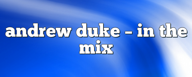 Airs on March 8, 2018 at 02:00PM Andrew Duke on enationFM