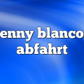 benny blanco – Abfahrt