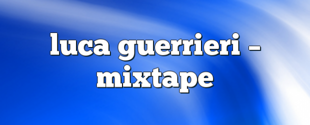 Airs on October 15, 2018 at 02:00PM Mixtape Radio Show – Your Weekly Dose of House Music. Mondays at 2pm you may also like: Luca Guerrieri – Mixtape Luca Guerrieri […]