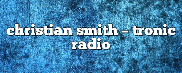 Airs on May 20, 2020 at 04:00PM Tune In to listen to Smith's big room sounds