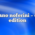 Airs on August 3, 2020 at 01:00PM Stefano Noferini Presents Club Edition