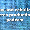 Airs on September 14, 2020 at 07:00AM Chus and Ceballos (@chusceballos) have been the pioneers and creators of the underground movement known as IBERICAN SOUND.