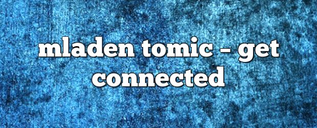 Airs on November 7, 2020 at 08:00PM mladen tomic on enationFM
