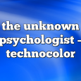 Airs on December 4, 2020 at 09:00PM the unknown psychologist on enationFM
